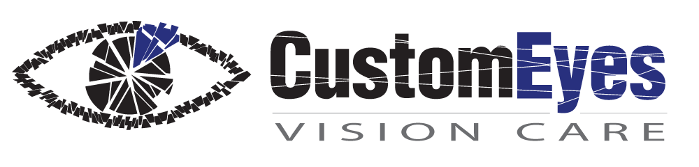 CustomEyes Vision Care – Pocahontas & Newport Arkansas Mobile Logo